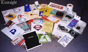 Kleersight Plastics Printed Retail Bag