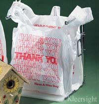 Kleersight Plastics T-Shirt Bags