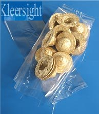 Kleersight Plastics Gusseted Poly Bag